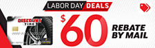 $60 Discount Tire credit card rebate