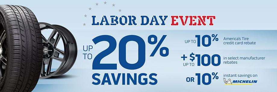 Labor Day Event!