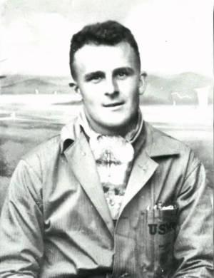 Mr. Halle in uniform
