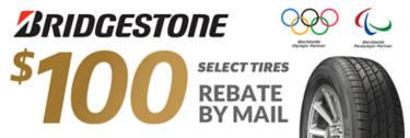 Bridgestone Rebate (select lines)