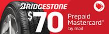 $70 Bridgestone Rebate