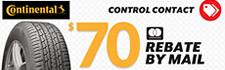 $70 Continental Control Contact Rebate