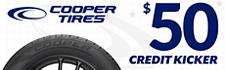 $50 Credit Card Rebate Kicker on Cooper Rugged Trek