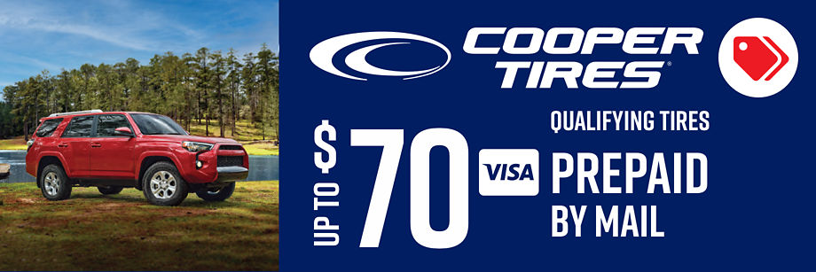 Up to $70 Cooper Reward