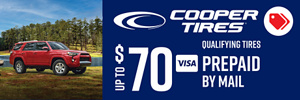 Up to $70 Cooper Rebate
