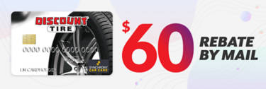 Discount Tire Credit Card Rebate