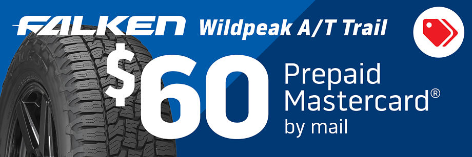$60 Falken Wildpeak A/T Trail Rebate