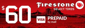 $60 Firestone Rebate