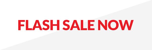 Flash Sale Now!