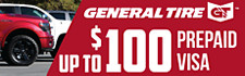 Up to $100 General Tire Rebate
