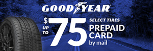 Up to $75 Savings on Goodyear