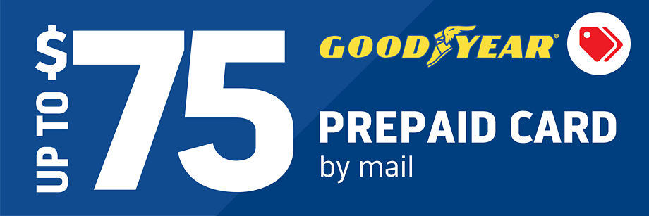 Up to $75 Goodyear Rebate