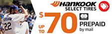 Up to $70 Hankook Rebate