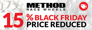 15% Price Reduction on Method Race Wheels
