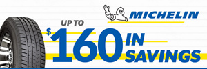 Up to $160 Michelin Instant Savings