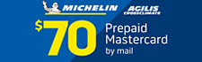 $70 Michelin Agilis CrossClimate Rebate