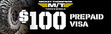 $100 MickeyThompson Rebate