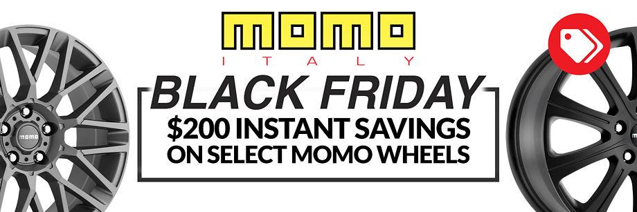$200 Instant Savings on Select Momo Wheels