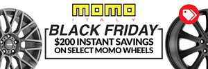 $200 Instant Savings on Momo Wheels