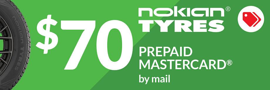 $70 Nokian Encompass AW01 Rebate