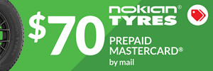 $70 Nokian Encompass AW01 Rebate