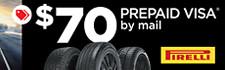 $70 Pirelli Rebate