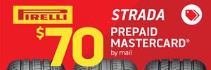 $70 Pirelli Strada Rebate