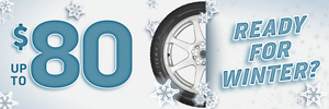 Save on Winter Tires!