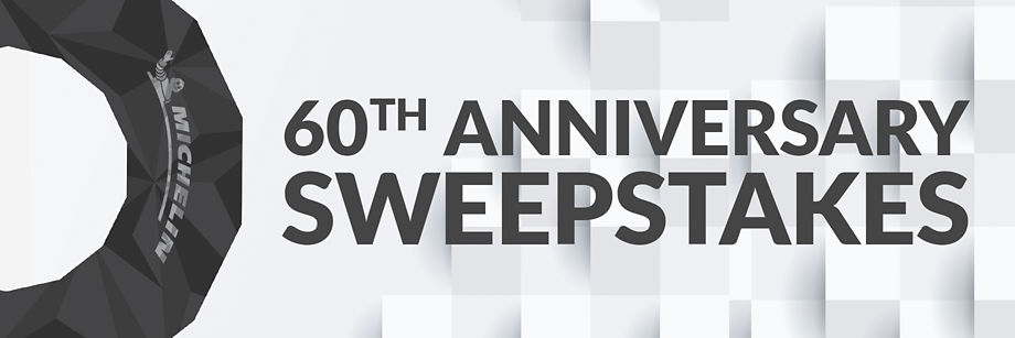 60th Anniversary Sweepstakes