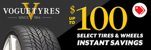 Up to $100 Vogue Instant Savings