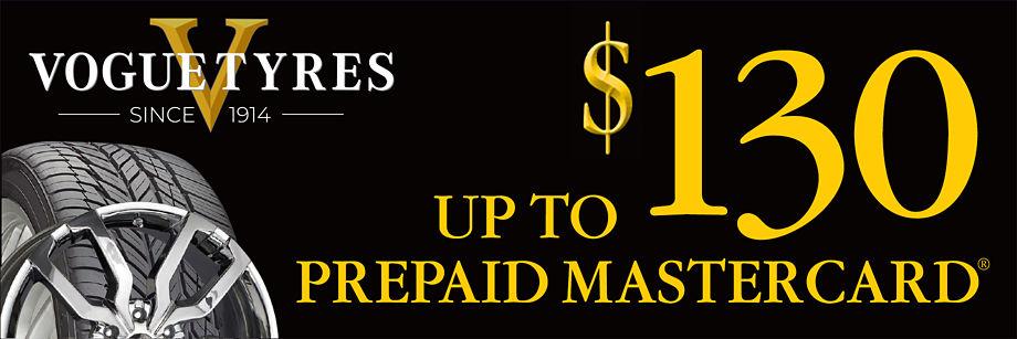 Up to $130 Vogue Rebate