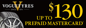 Up to $130 Vogue Rebate