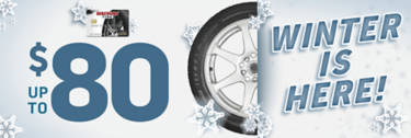 Winter/Snow Tire and Wheel Rebate