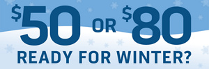 Save on Winter Tires