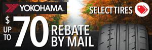 Yokohama Mail in Rebate